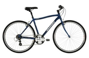 LEJOG - image of hybrid bike