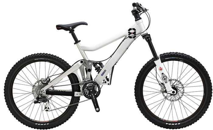 LEJOG - Image of mountain bike