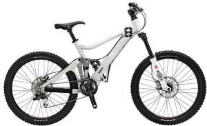 LEJOG - Image of mountain bike