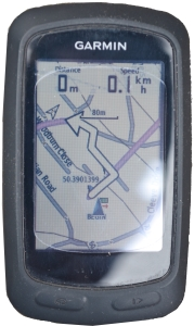 Fourth Lands End to John O'Groats - How to Re-Route Using a Garmin 800