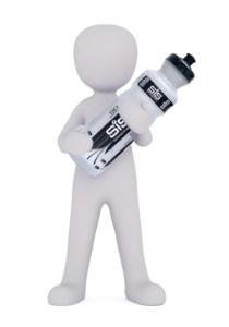 LEJOG What to take - Man holding Bottle