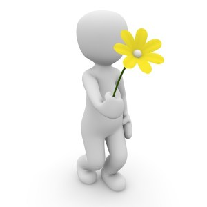 Image of Man Holding Flower for Lands End to John O'Groats Training Page