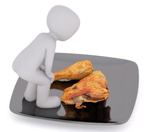 Image of Chicken for Lands End to John O'Groats - What to eat riding LEJOG