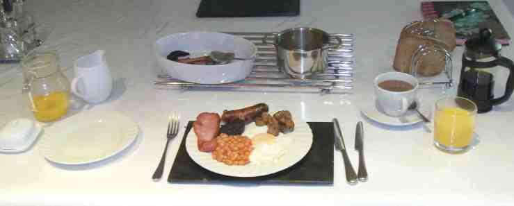 Cypress House Breakfast