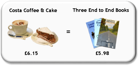 Lands end to john o groats book special offer