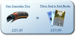 Image for Lands End to John O Groats Special Offer - tyre = books