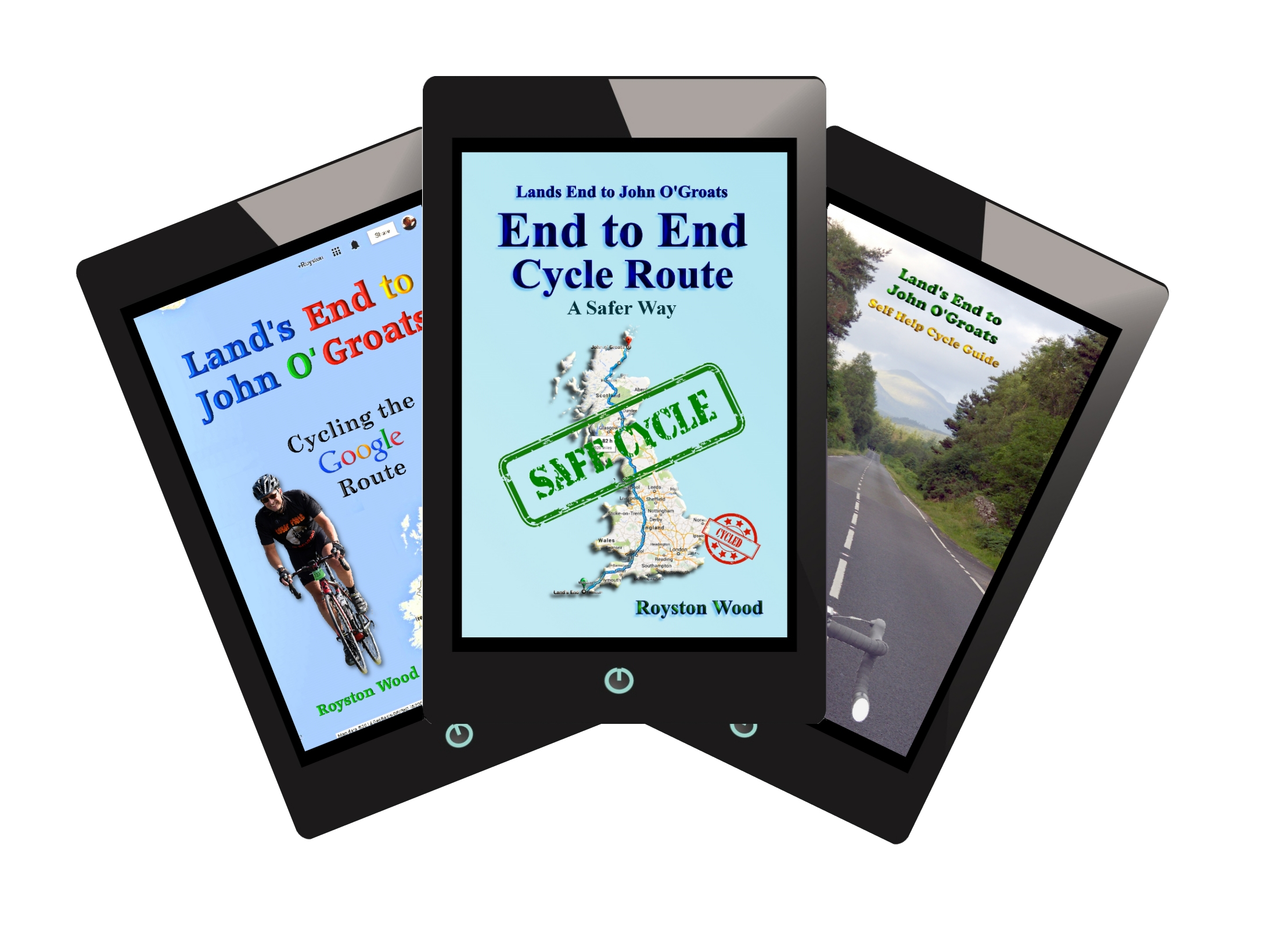 Land's End to John O'Groats Cycle Route Book Special Offer - image