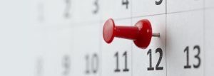 Planning your End to End Cycle - Image of pin in a calendar
