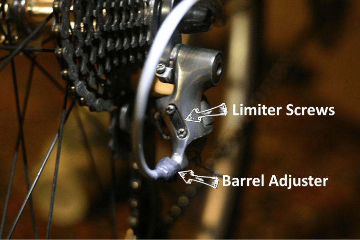 Image of Limiter screws with lables