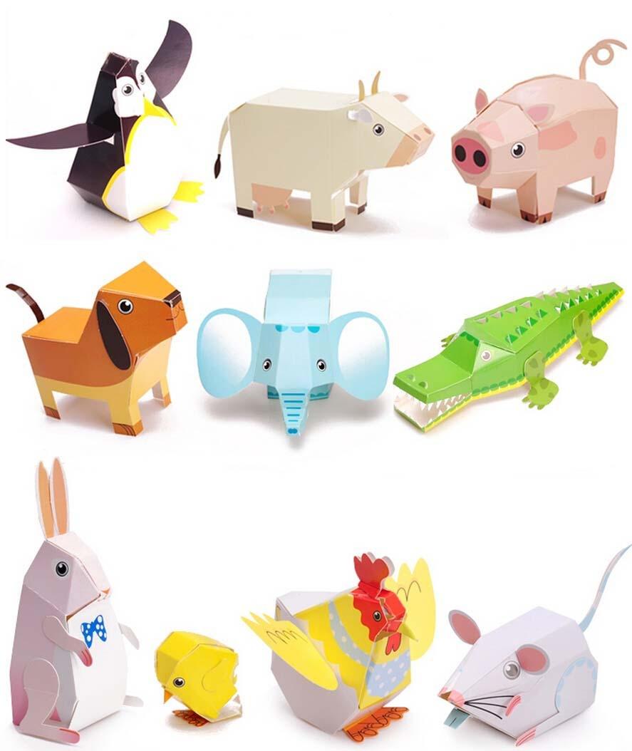 картинки бумажных игрушек получил