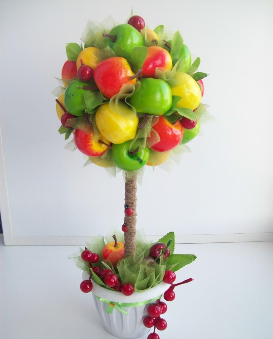 топиарии из фруктов картинки краны применяют также