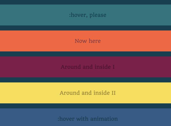 text-decoration underline animated
