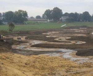 Big Spring Run - Stream & Floodplain Restoration - Construction