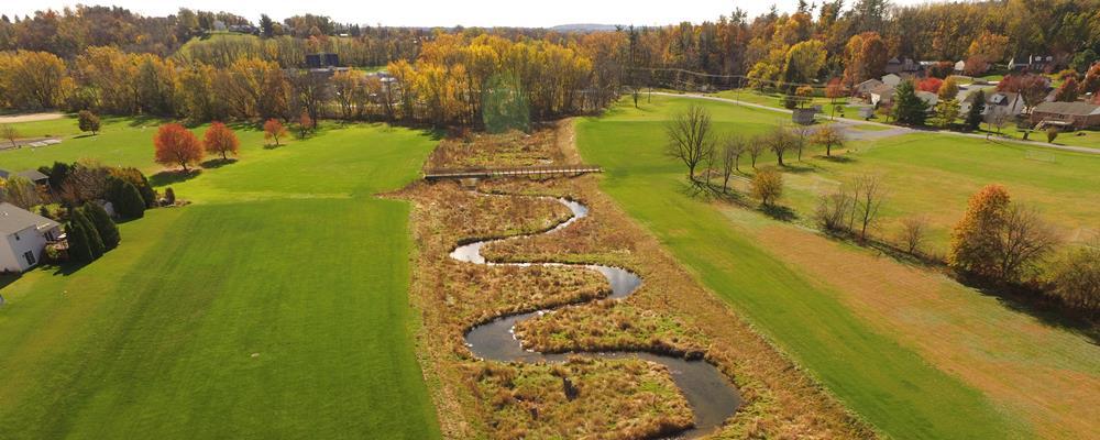 B.R. Kreider & Son and LandStudies Recognized For Floodplain Restoration Project