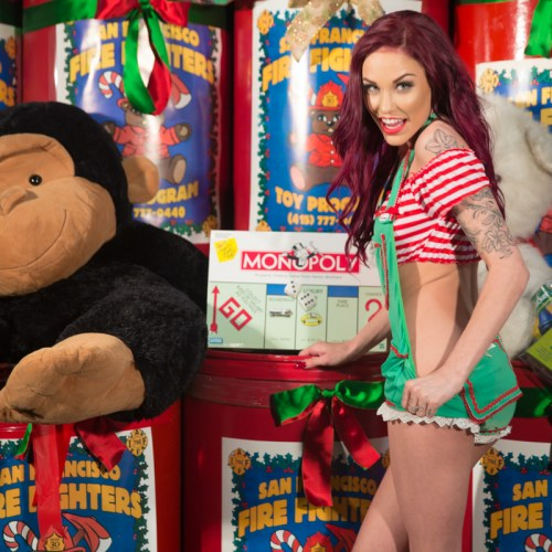 Gold Club's Naughty Santa helpers_-12