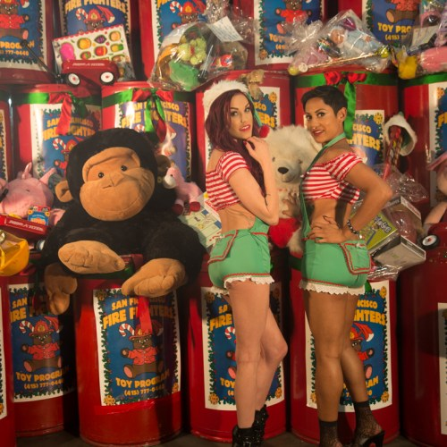 Gold Club's Naughty Santa helpers_-4