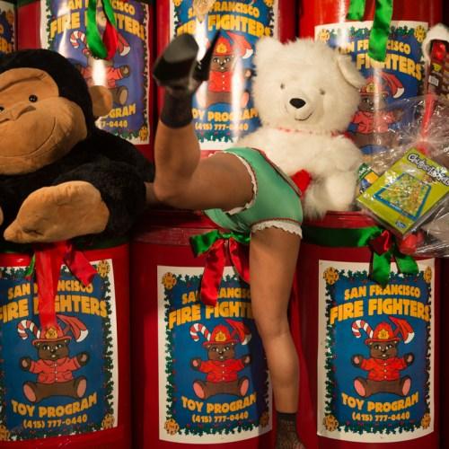 Gold Club's Naughty Santa helpers_-8