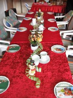 Der Tisch ist gedeckt