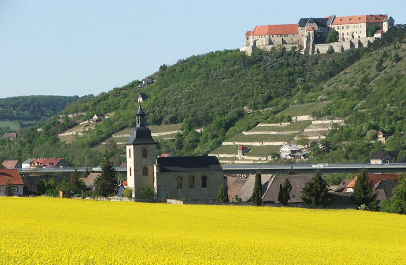 Schloss Neuenburg machen Sie Landurlaub in Sachsen-Anhalt