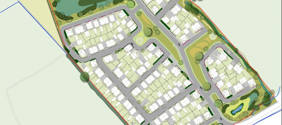 Landscape planning input into planning applications