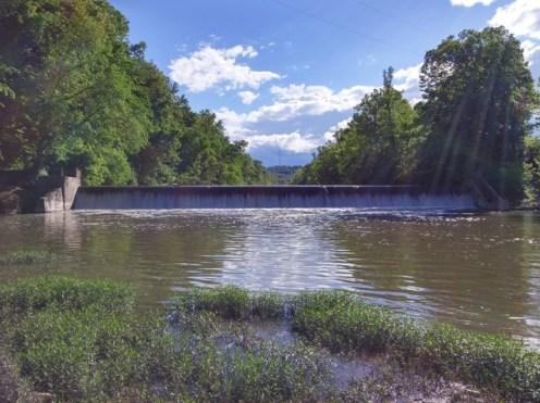 Highland Dam then. (photo credit: Nick Millett)