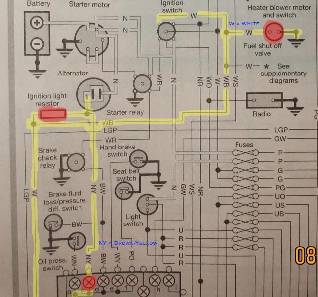 Rover Start Wiring Diagram