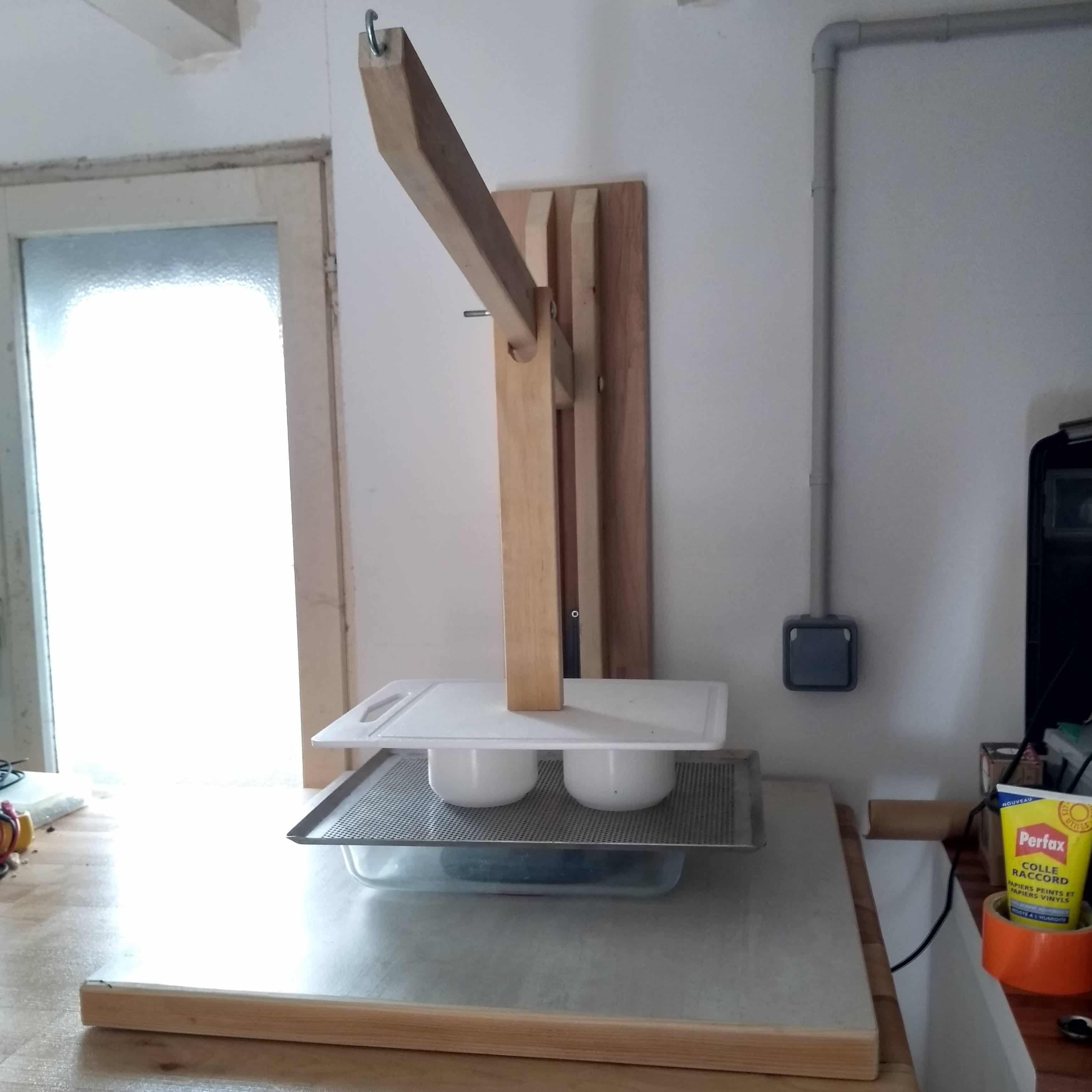 presse à fromage maison