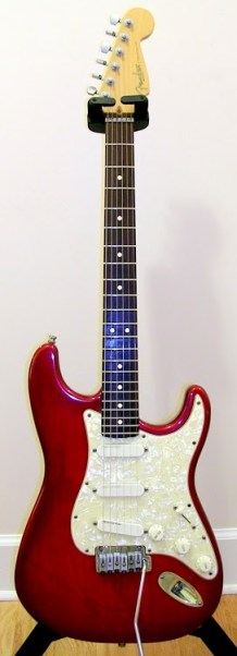 Fender Deluxe Strat Plus, Crimson Burst