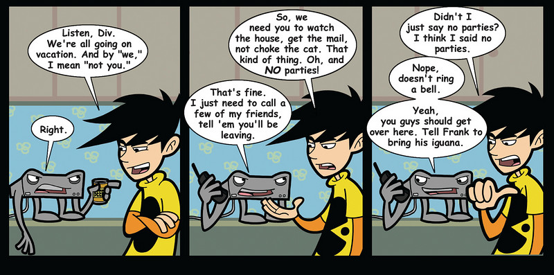 DiVX is a surly piece of consumer electronics.  From penny-arcade.com