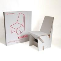 KrtoKids, una cadira de cartró per a nens