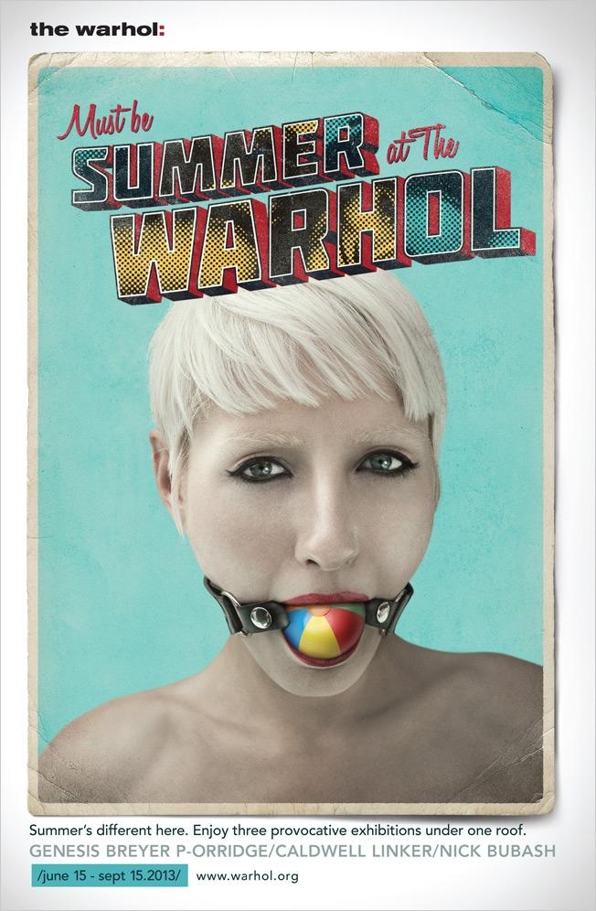 L'Andy Warhol Museum us desitja un estiu molt incòmode