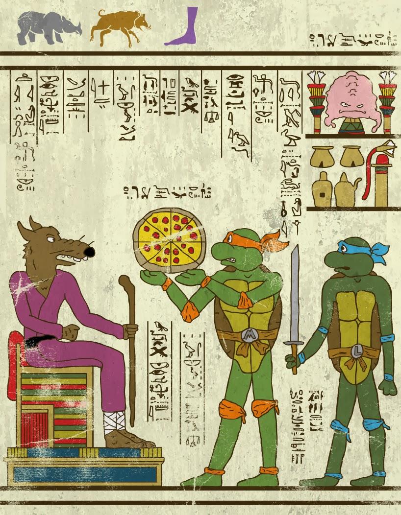 Com serien els còmics a l'Antic Egipte?