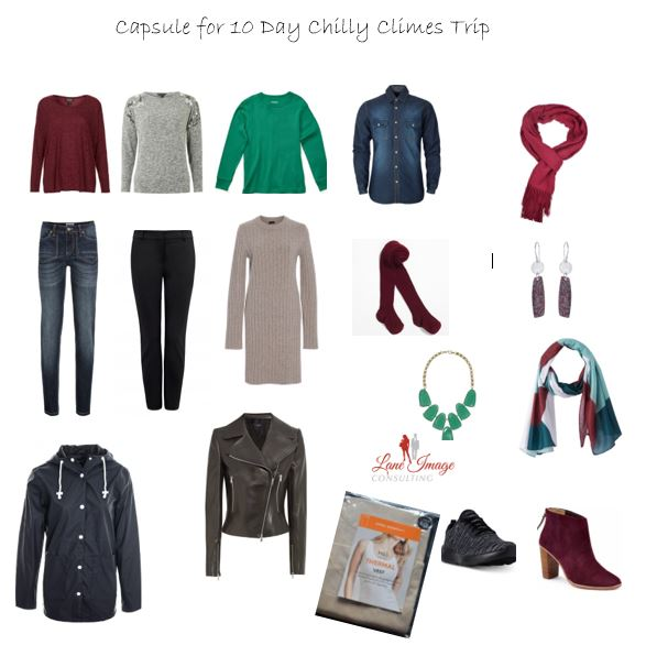 10 Day Chilly Climes Capsule