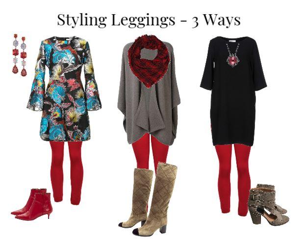 Styling leggings -3 Ways