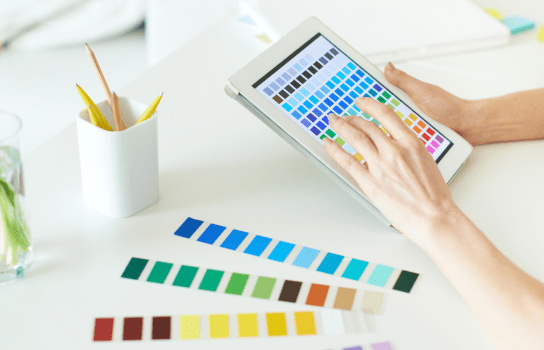 Digital Colour Palettes