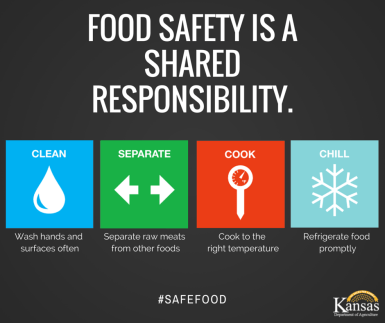 Created to promote food safety as part of the 2015 World Health Day campaign for the Kansas Department of Agriculture.