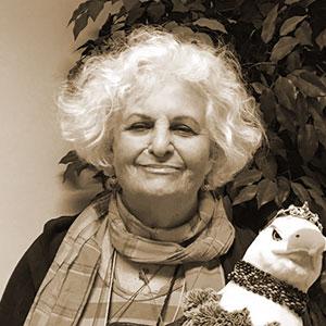 Sepia Portrait of Carole R. Brown