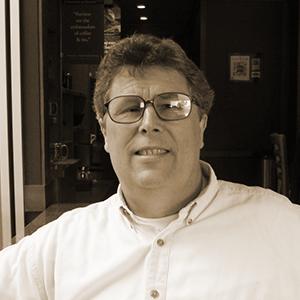 Sepia Portrait of Tony Claar