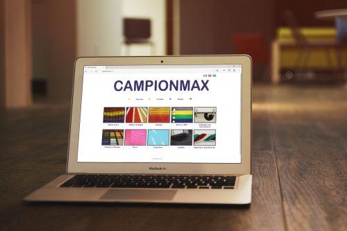 Sito aziendale per Campionmax