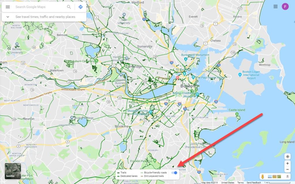 Show Bike Paths On Google Maps on google maps exercise bike, google maps bike trail, google bicycle, bicycle path, google bike maps nyc, google maps bike route, la jolla bike path,