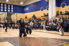 There were some pretty exciting matches to watch in all categories, but specifically in 4+ Dan. This category was filled with experienced people who have dedicated a significant part of their life to kendo. The older a person is in kendo, the more afraid of them you have to be - they're that good.