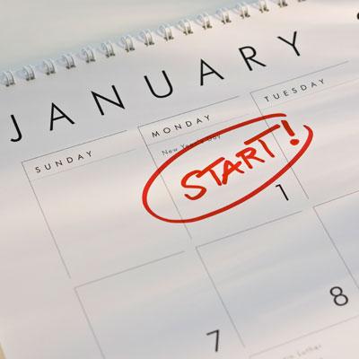 new years resolution start date
