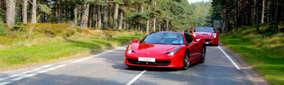 Ferrari Hire Scotland