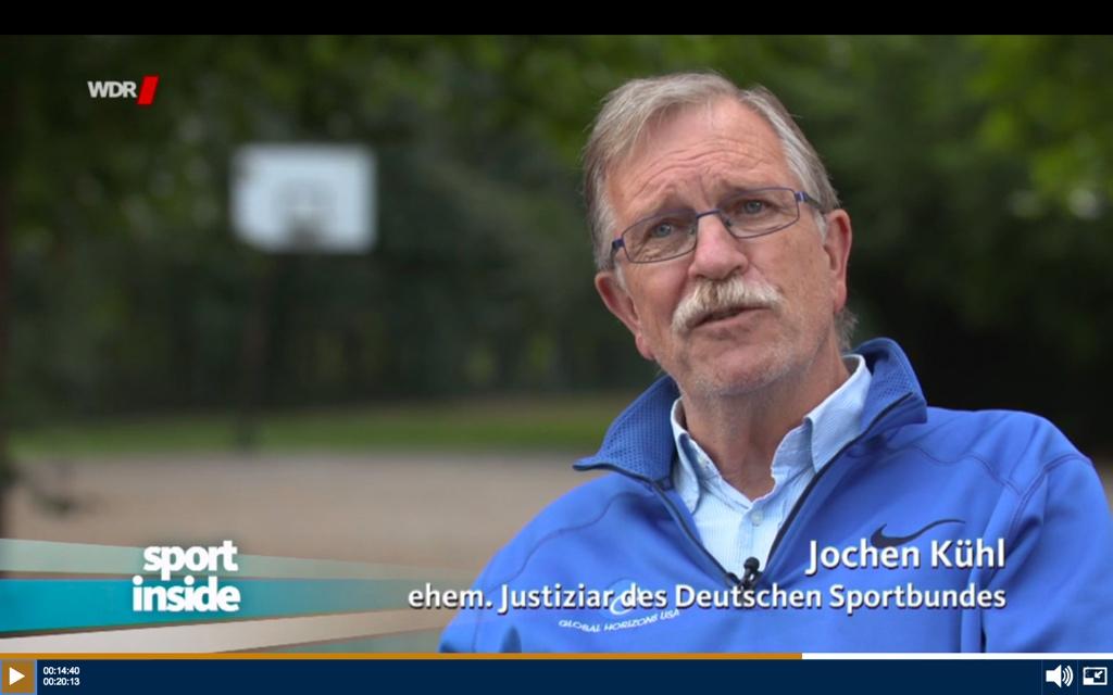 © WDR/sport inside v. 02.10.2016