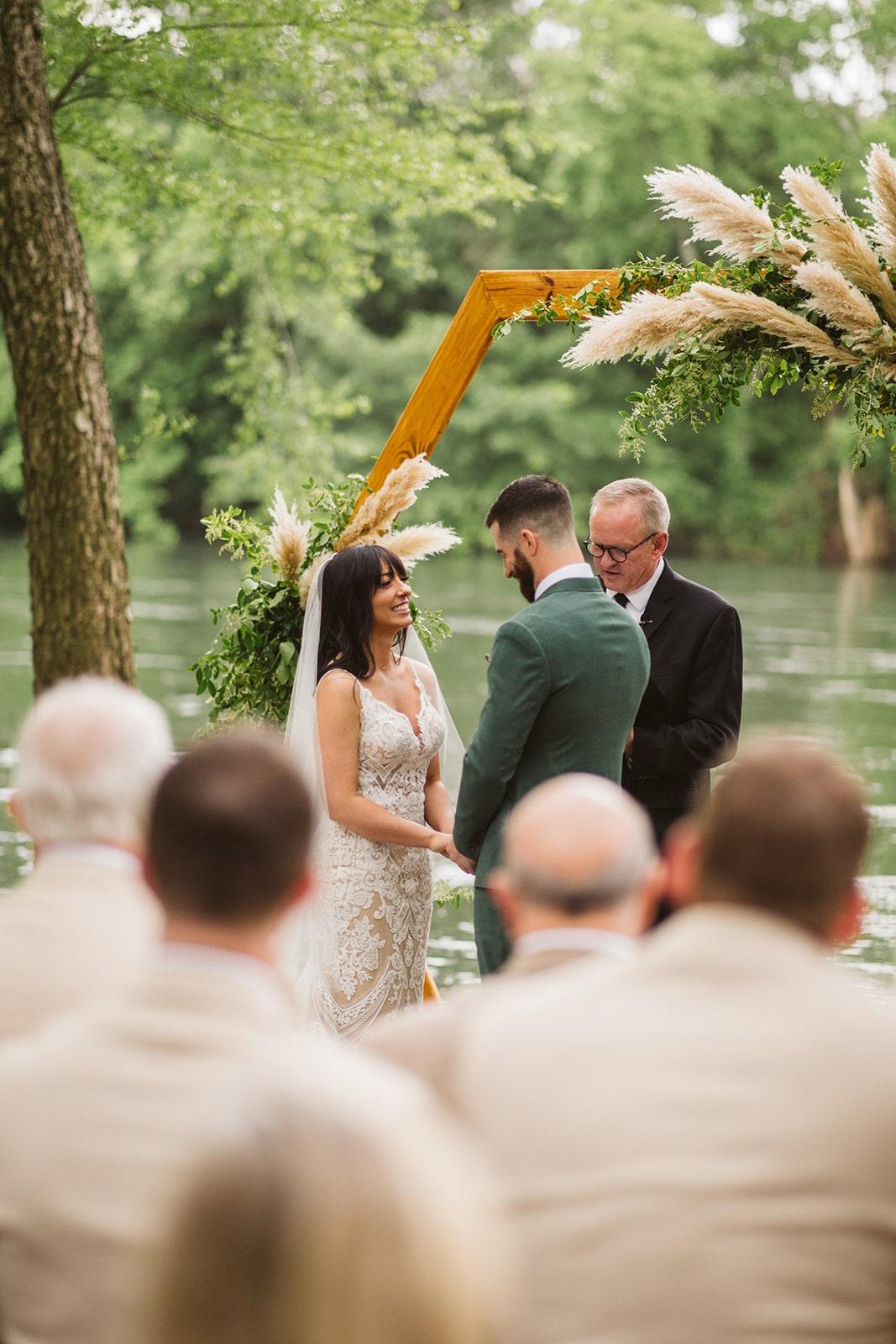 Boho Pampas Grass Wedding, Lang Floral Designs, Chattanooga Wedding Florist and Day-of Coordinator