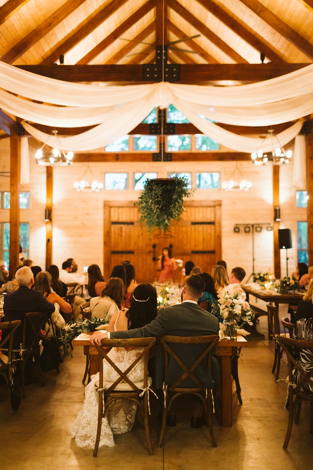 Hanging Greenery Installation Wedding, Lang Floral Designs, Chattanooga Wedding Florist and Day-of Coordinator