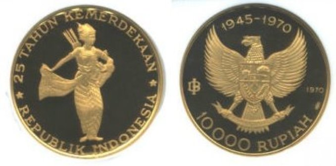 uang kuno 10000 rupiah