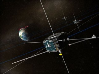 Ilustrasi THEMIS. Kredit : NASA