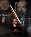 Galileo Galilei dan teleskopnya. Kredit : ESA/Hubble-M. Kornmesser