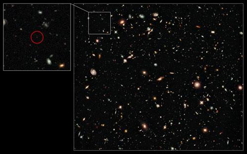 Egs zs galaksi terjauh di alam semesta